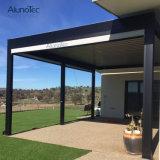 Pergola en aluminium imperméable à l'eau d'écran de toit d'ouverture
