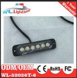 Blaue LED-dünne Montierungs-vertikales Röhrenblitz-Licht 12-24V