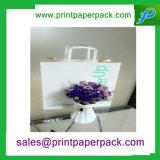 Saco de papel cosmético da jóia durável elaborada decorativa