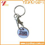 Kundenspezifischer Fonds-Haken des Firmenzeichen-3D mit Schlüsselring (YB-pH-16)