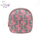 Pink Women Makeup女性化粧箱のクラッチのオルガナイザー袋