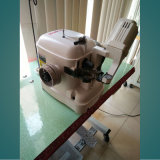 Automatischer Schmierung Strobel Einlegesohlen-Nähmaschine-oberer Nähmaschine-Schuh, der Maschine herstellt