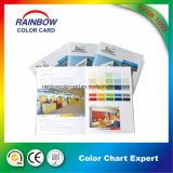 Brochure personnalisée sur la carte de couleur d'impression de livre pour publicité