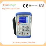 Verificador Handheld da resistência da C.C. com escala 10micro Ohm-200kohm (AT518L)