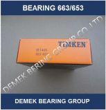 최신 인기 상품 Timken 인치 테이퍼 롤러 베어링 663/653 Set405