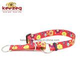 新式のOリングナイロン犬猫カラーか転送の印刷(KC0099)