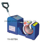 수동 디지털 찻잔 압박 이동 기계 Yh-80tba ((수직) 수평한) /Yh-80tb