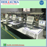 Holiauma 15カラーマルチ大量生産の帽子の刺繍機械のためのヘッドによってコンピュータ化される刺繍機械