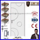 Populäre Innenraum-Entwurfs-Farbanstrich-Holz-Tür