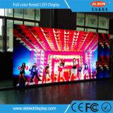 Kontrastreicher P6.67 LED im Freienbildschirm für Miete