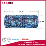 14 * 33cm Camo Foam Roller Équipement de fitness estampage à chaud