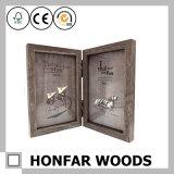 De houten Omlijsting voorzag Dubbele Omlijsting van een scharnier