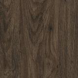étage arrière sec foncé de PVC de planche de vinyle de Vierge de 2.5mm Brown