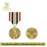 O medalhão feito sob encomenda da lembrança da concessão, maratona da alta qualidade ostenta a medalha