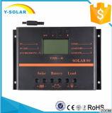 обязанность/регулятор панели солнечных батарей 80A 12V/24V LCD для заряжателя батареи S80