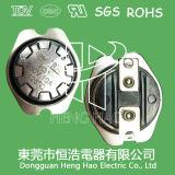 Fusible thermique de la coupure H31, thermostat du bimétal H31