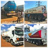Cisterna, total, Oilibya estándar del tanque de combustible del remolque, remolque cisterna de petróleo