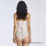 Corsé atractivo del corsé del amaestrador de la cintura de la ropa interior del cordón de las mujeres