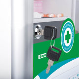 Deaktop Parete-Monta la casella di memoria del pronto soccorso con la maniglia e la serratura