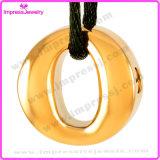 灰の記念品のホールダーの記憶のネックレス(IJD9284)のための円形の壷の吊り下げ式の記念の魅力