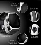 2017 Ios 인조 인간을%s 도매가 T8 SIM 사진기 Bluetooth 지능적인 시계