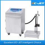L'imprimante à jet d'encre continue de machine de Datte-Impression pour le lait en poudre peut (EC-JET920)
