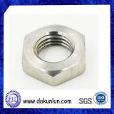 Noix Hex non standard d'acier inoxydable de précision
