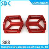 3/4/5軸線CNCの機械化のバイクのペダルの精密によって機械で造られる/Aluminumのペダル