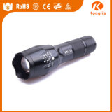 Poderosos lanterna elétrica recarregável do diodo emissor de luz Xml-T6 18650