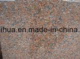 G562 Grantieの平板およびタイルの赤の花こう岩