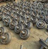 Roue d'acier de moulage pour l'usine de brique/roue de four