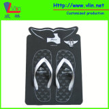 Palm Shape Board Flip Flop / Sandals with Floatable Keychain