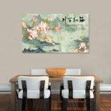 La pintura al óleo impresa Digitaces del chino tradicional para la decoración casera