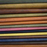 Boa mão que sente o couro sintético retro para as sapatas/sacos (HTS022)