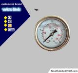 고품질 1.6% 밑바닥 연결 석유로 가득한 압력 계기
