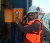 Op zwaar werk berekende Telefoon knsp-01 van de Zaktelefoon van de Noodsituatie van de Telefoon van de Zaktelefoon van de Noodsituatie Weerbestendige