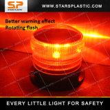 LED que gira la luz solar que destella del faro con el imán