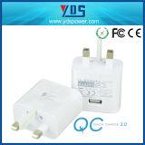 EU 저희 5V 2A 1-3 USB 포트를 가진 영국 이동 전화 충전기 USB 여행 충전기