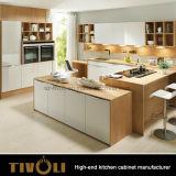 호주 부엌 찬장 Tivo-0078h를 위한 Cusotm 디자인 백색 내각을%s 가진 최고 부엌 찬장