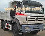 340HP Beiben kipwagenvrachtwagens met 20 cbm kipperslichaam