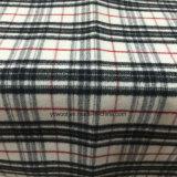 Verificación lista/común de la cara del doble de la tela de las lanas