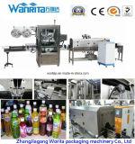 Máquina de etiquetas da luva do Shrink Wd-S250 para o frasco do suco (WD-S250)