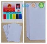 PVC 카드기반 HP 남빛 디지털 인쇄할 수 있는 인쇄 장, 잉크 제트 PVC 장
