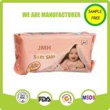 Trapo mojado modificado para requisitos particulares OEM de piel del bebé sensible natural del cuidado