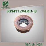 Вставка карбида вставок CNC поворачивая/филируя режущие инструменты Rpmt1024mo-Js