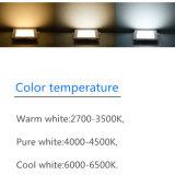 Lampada quadrata chiara dell'interno della lampadina messa LED di illuminazione di comitato del soffitto 9W AC85-265V 90lm/W giù
