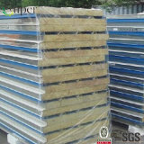 壁/屋根ふき鋼鉄カラー50mm PURockwoolサンドイッチパネル/ポリウレタンボード