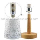 Schreibtisch-Lampen-Nachthelle Führung tragen 10W die Farben-Grad-Nacht des warmen Farben-Funkens eine Lieferung P für den Schlafzimmer-Schreibtisch Lamporterage ein