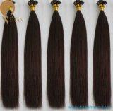 el 30% del pelo indio Extenison de la queratina del pelo humano de Remy