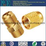 高品質の青銅色の習慣CNCの機械化の接続の部品